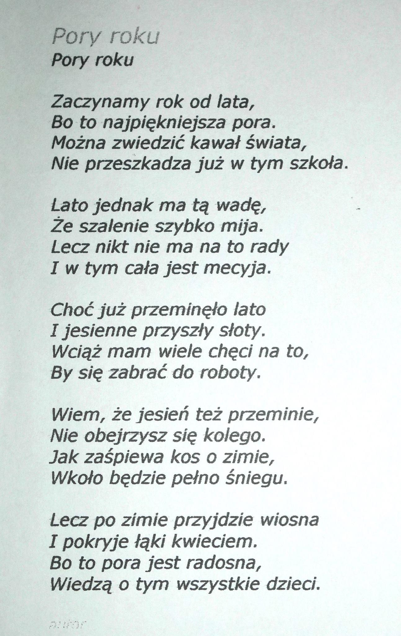 Językowy Konkurs Literacki Szkoła Liderów